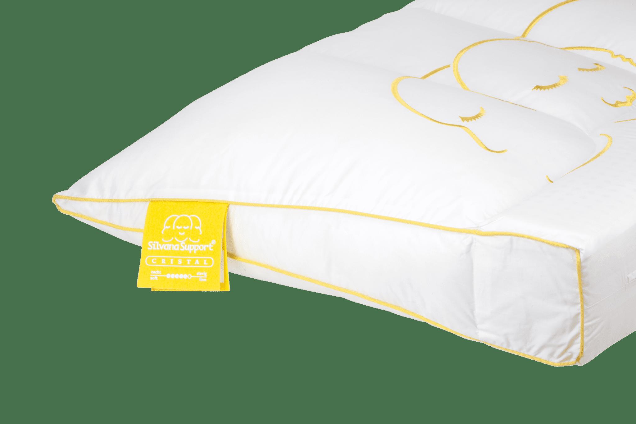 Silvana support cristal geel slaap er op